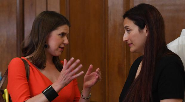 Luciana Berger has announced she is joining Jo Swinson's Liberal Democrats (Stefan Rousseau/PA)