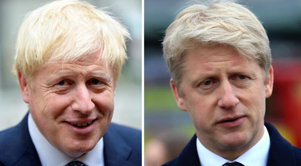 Boris Johnson on the ropes as brother Jo quits Conservatives in protest at his drastic tactics (PA)
