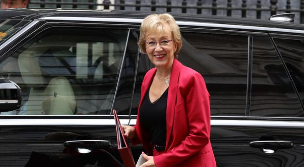 Andrea Leadsom stepped up her feud with John Bercow (Aaron Chown/PA Wire)