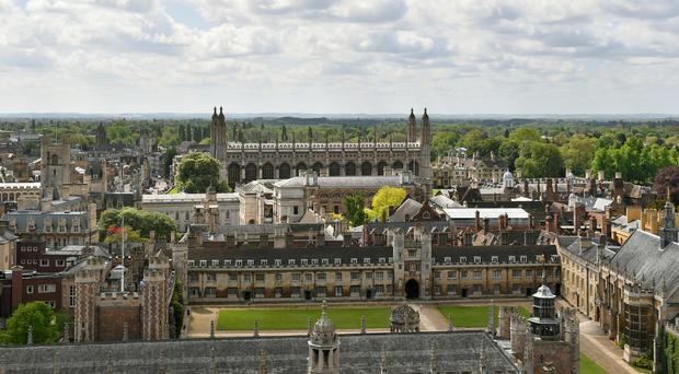 A record proportion of students starting at Cambridge University went to state schools, figures published by the institution show (Joe Giddens/PA)