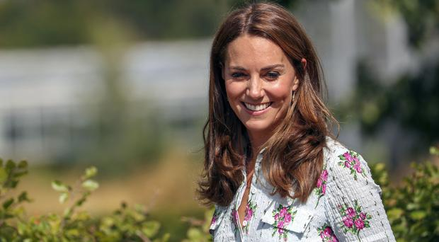 The Duchess Of Cambridge during a visit to the Back to Nature Festival (Steve Parsons/PA)