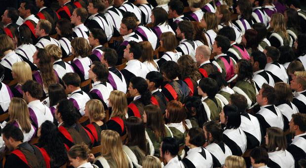 Changes to student visa rules should apply to those currently at UK universities and colleges, it has been suggested (David Cheskin/PA)