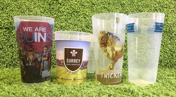 A number of sporting venues have brought in reusable cups (Friends of the Earth/PA)