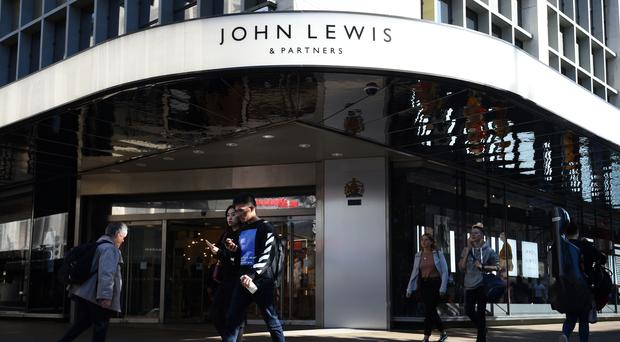 The John Lewis Partnership has warned that the hit from a no-deal Brexit would be 'significant' and impossible to offset (Kirsty O'Connor/PA)