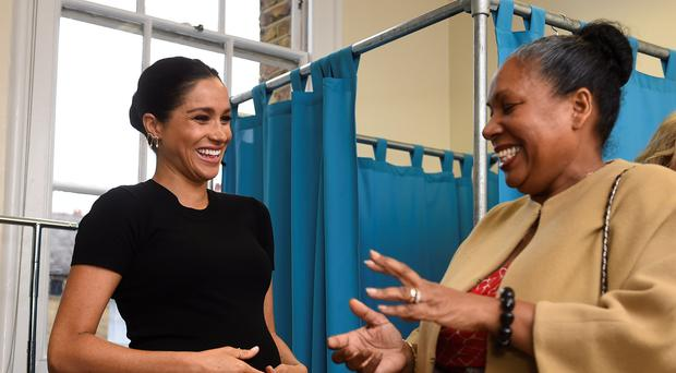 The Duchess of Sussex has launched a clothing collection in aid of the Smart Works charity (Clodagh Kilcoyne/PA)