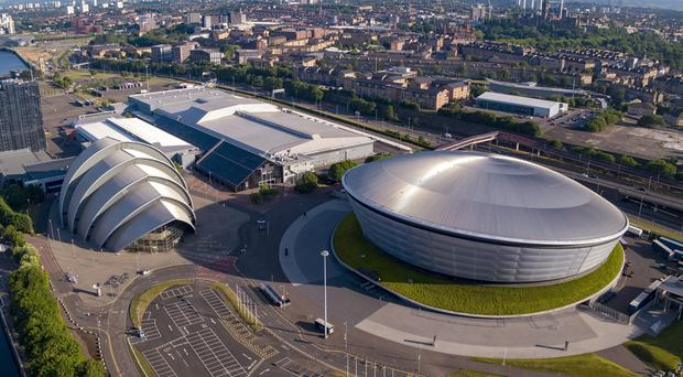 The Scottish Event Campus in Glasgow has been chosen to host COP26 (SEC/PA)