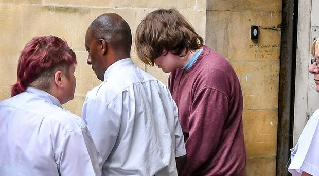 Kyle Davies (maroon top) has been jailed for 16 years (Ban Birchall/PA)