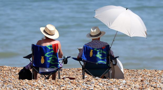 It could be a warm weekend for some (Gareth Fuller/PA)