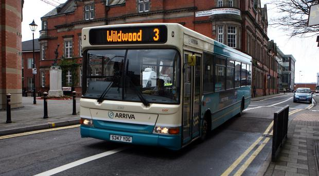 Bus use is in decline, according to the Local Government Association (David Jones/PA)