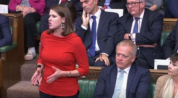 Jo Swinson has faced criticism from members of her own party for admitting ex-Tory Dr Phillip Lee (House of Commons/PA)