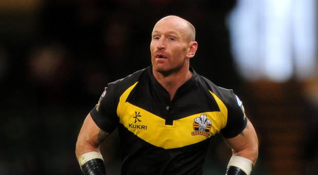 Former Wales rugby captain Gareth Thomas, who revealed he is HIV positive. (Andrew Matthews/PA)