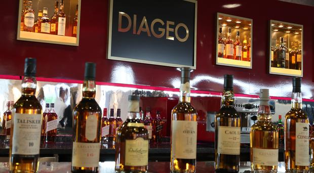 Unions criticised Diageo's 'insatiable corporate greed' (Andrew Milligan/PA)