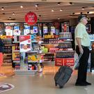 Duty Free at terminal one Manchester airport.