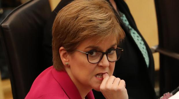 Nicola Sturgeon has earmarked the second part of 2020 for a fresh ballot (Andrew Milligan/PA)
