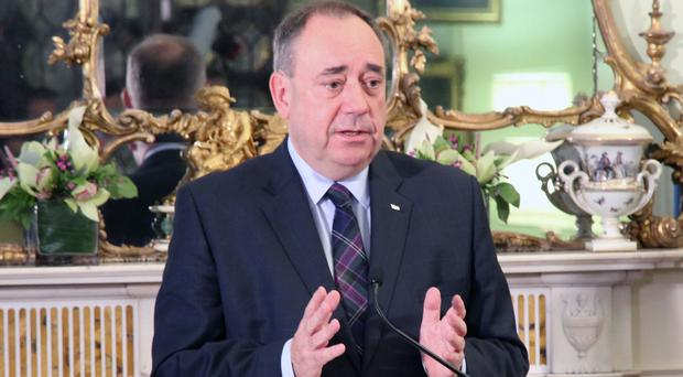 Alex Salmond said he would have delayed Scotland's independence referendum if he had known how events would unfold in UK politics. (Scottish Government/PA Images)