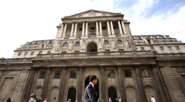 Bank of England policymakers are set to leave interest rates on hold (PA)