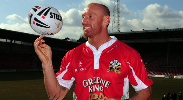 Gareth Thomas has said he hopes to inspire others after revealing his HIV condition (Andrew Matthews/PA)