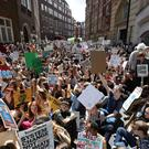 Britain gears up for the largest climate protests it has ever seen (Aaron Chown/PA)