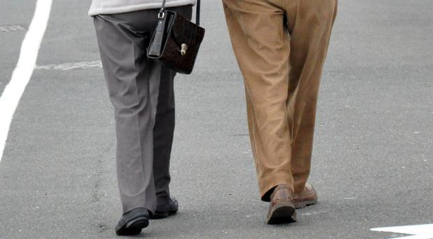 Studying how people walk could indicate what kind of dementia they have, scientists have found (Kirsty O'Connor/PA)
