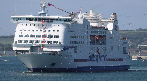 Brittany Ferries is among the firms selected for the freight procurement framework (Andrew Matthews/PA)