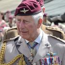 The Prince of Wales is Colonel-in-Chief of the Parachute Regiment (John Stillwell/PA)