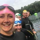Team Torri will dive into the Children with Cancer UK Swim Serpentine (Handout/PA)