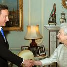 David Cameron told a BBC documentary he suggested the Queen could 'raise an eyebrow' in the Scottish referendum campaign (John Stillwell/PA)