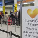 Passengers have spoken of their distress after the closure of Thomas Cook (Rick Findler/PA)