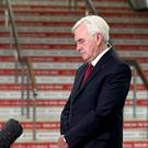 Shadow chancellor John McDonnell takes part in morning media interviews during the Labour Party Conference at the Brighton Centre in Brighton (Gareth Fuller/PA)