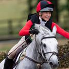 Iona Sclater was described as one of the sport's 'bright stars' by British Eventing (Adam Fanthorpe/PA)