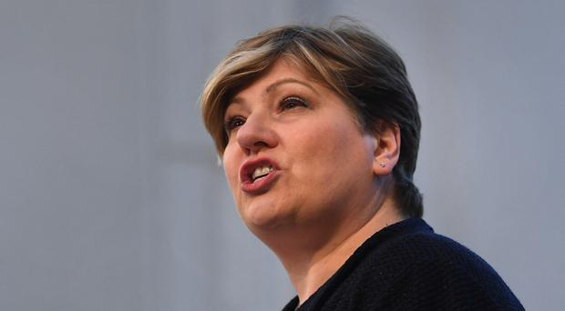 Emily Thornberry used her keynote speech at the Labour conference to urge activists to call for the party to throw its weight behind the Remain cause (Stefan Rousseau/PA)