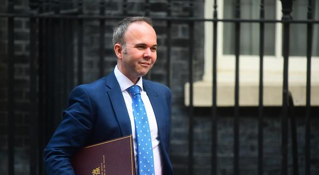 Gavin Barwell, Theresa May's former chief of staff, pictured in Downing Street (Victoria Jones/PA)