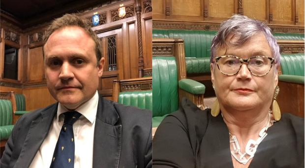(@carolynharris24 and @TomTugendhat/Twitter)