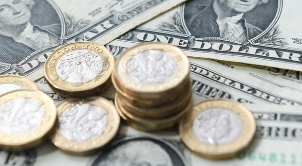 The pound rose against the dollar and euro on the back of the Supreme Court ruling that proroguing parliament was unlawful (PA)