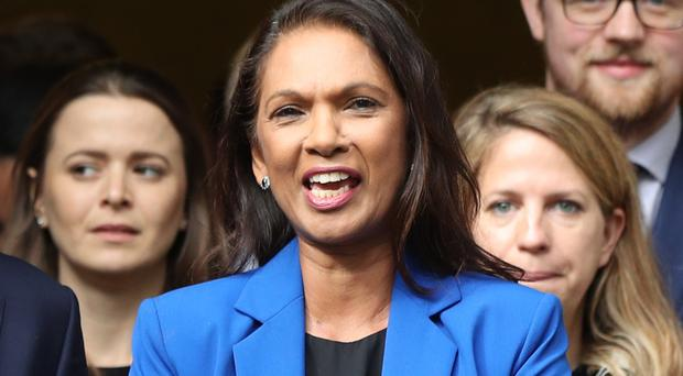 Businesswoman and campaigner Gina Miller (Jonathan Brady/PA)