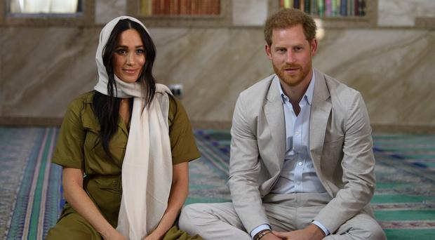The Duke and Duchess of Sussex (Tim Rooke/PA)