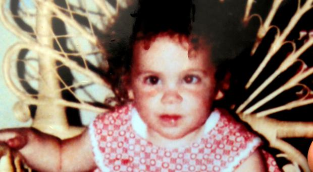Katrice Lee before she went missing on her second birthday (Family handout/PA)