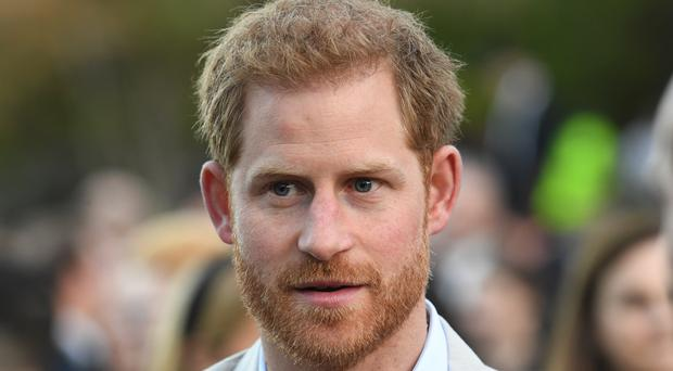 The Duke of Sussex will meet young people who speak up for peers with HIV as he visits Botswana on Thursday (Facundo Arrizabalaga/PA)