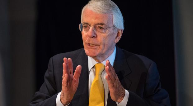 Sir John Major (Dominic Lipinski/PA)