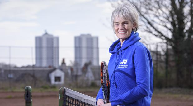 Judy Murray said she was delighted to receive the award (John Linton/PA)