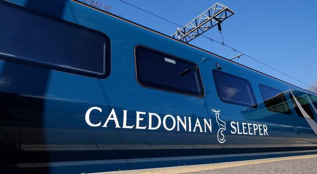The Caledonian Sleeper services will not run on Sunday or Monday (PA)