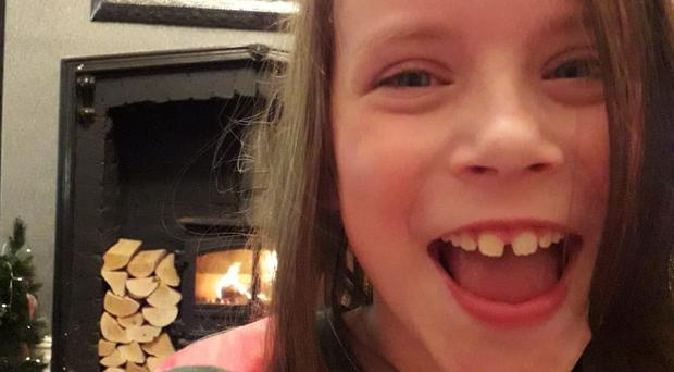Melissa Tate, 10, died following the collision on Wednesday evening (Northumbria Police/PA)
