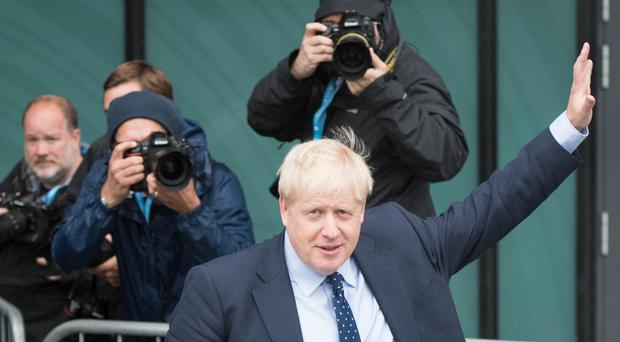 Prime Minister Boris Johnson said he was being targeted over his firm stance on Brexit (PA)