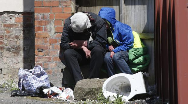 Most of the homeless deaths in 2018 were men (Owen Humphreys/PA)