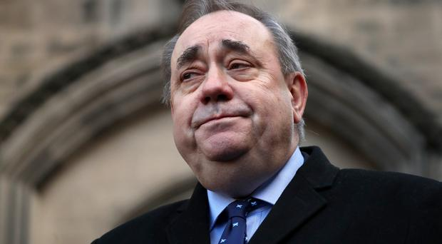 The Scottish Government paid £512,250 in legal costs to former first minster Alex Salmond (Jane Barlow/PA)