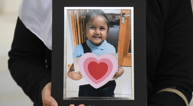 A judge ruled five-year-old Tafida Raqee could be moved to the Gaslini children's hospital in Genoa (Kirsty O'Connor/PA)