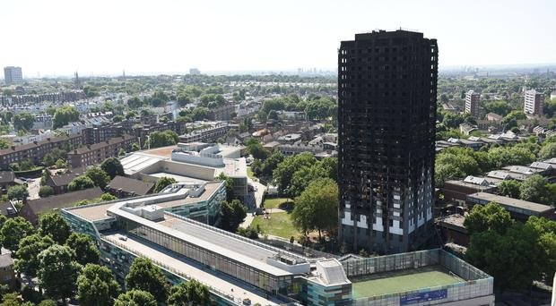 The Grenfell Tower fire left more than 70 people dead (David Mirzoeff/PA)