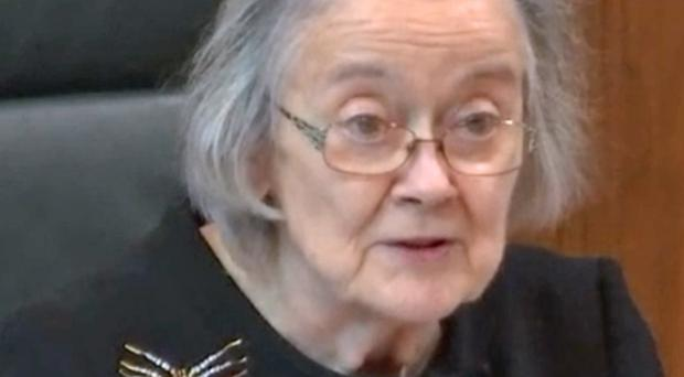 Lady Hale has reportedly said young women should be encouraged to go for what they want in life (Supreme Court/PA)