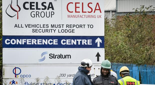 Two workers died at the Celsa steel plant (Ben Birchall/PA)