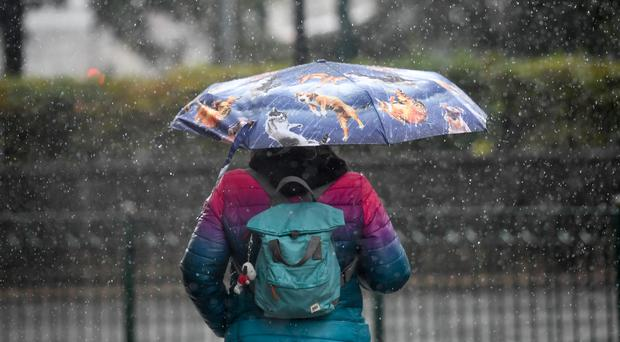 Heavy rainfall is predicted (Jacob King/PA)